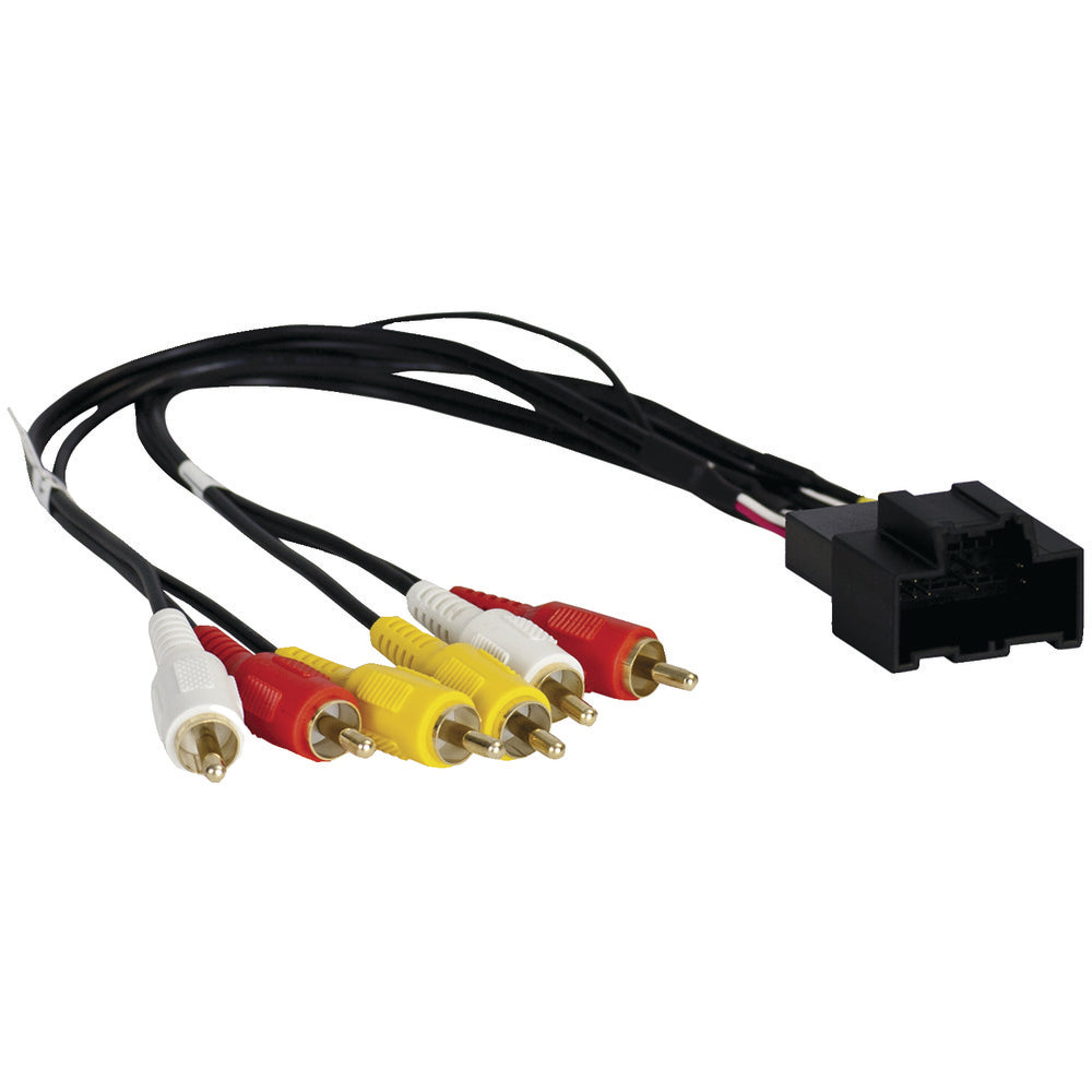 Axxess Rse A And V Wiring Harness For 2012-2014 Gm Vehicles With Nav