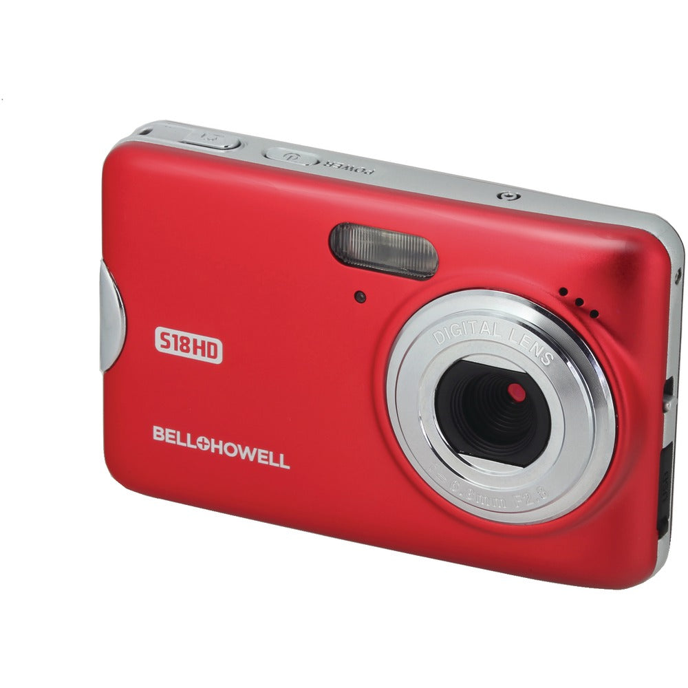 Bell+howell S18hd 18-megapixel Hd Digital Camera (red)