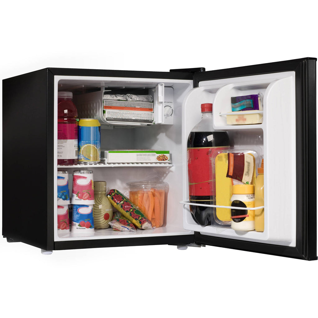 Haier 3.2 cu ft 2-Door Refrigerator, Black