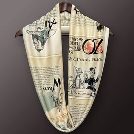 The Wonderful Wizard of Oz Infinity Scarf