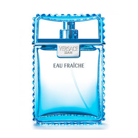 VERSACE Man Eau Fraiche Cologne Eau de Toilette Spray Edt Tester for Men 3.4 oz Subtle & Fresh Scent