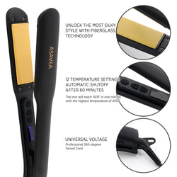 AsaVea Hair Straightener 2 (BLACK)