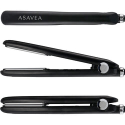 AsaVea Vibration Flat Iron Ceramic Tourmaline Ionic Hair Straightener, Vibration Technology for Salon-Like Results in One Pass