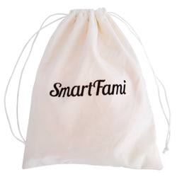Smartfami Washable Organic Bamboo Nursing Pads with Laundry and Cloth Bag