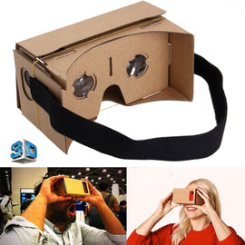 "3D VR Virtual Reality Google Cardboard for up to 5"" Smartphones"