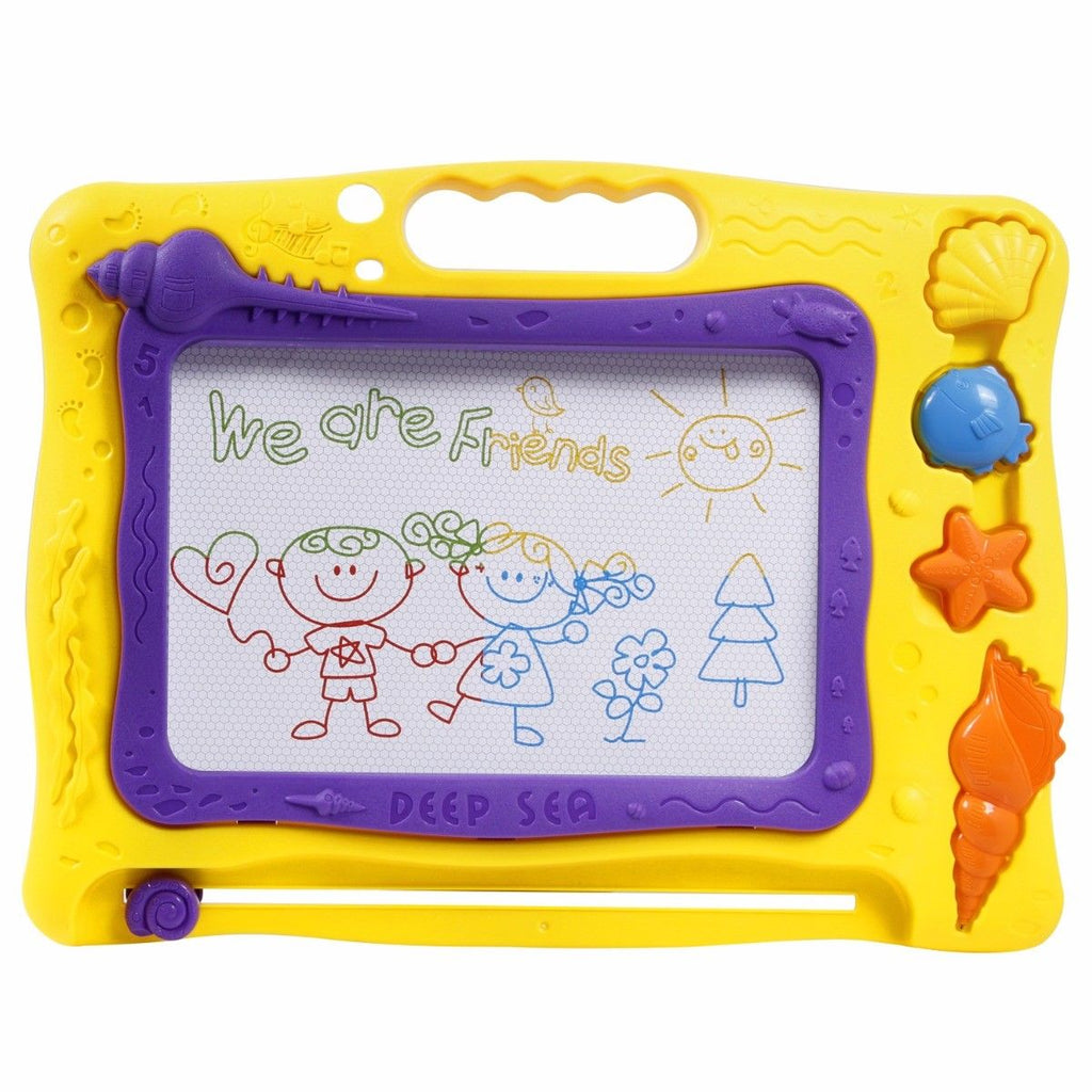 Colorful Magnetic Drawing Board - Children Magna Drawing Doodle Board Erasable Writing Sketch Board Pad