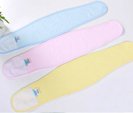 3pc Baby Umbilical Cord, Newborn Navel Belt, Neonatal Belly Button Protector, Infant Pure Cotton Umbilical Bellyband Umbilical Hernia Truss