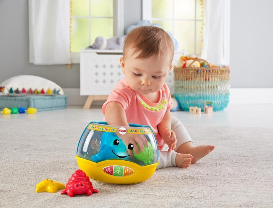 Fisher-Price Laugh & Learn Magical Lights Fishbowl Kids Activity Toy