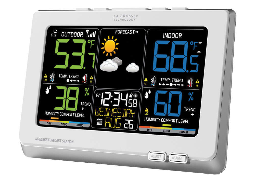 Easy-Read C87030 Wireless La Crosse Technology Weather Station  with TX141TH-BCH NIB