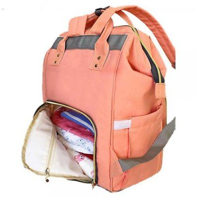 Mommy Maternity Large Capacity Baby Diaper Nappy Changing Travel Backpack