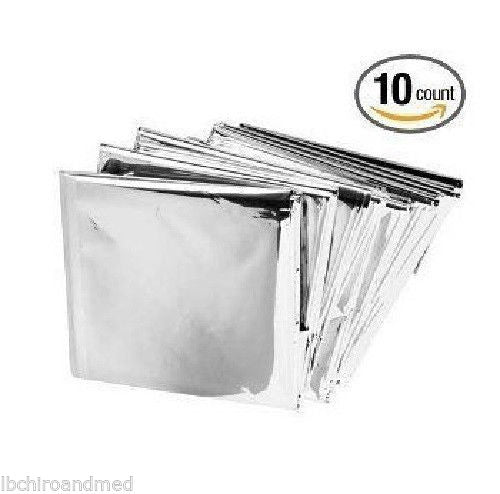 Disposable Emergency Solar Insulating Thermal Heater Pack of 10