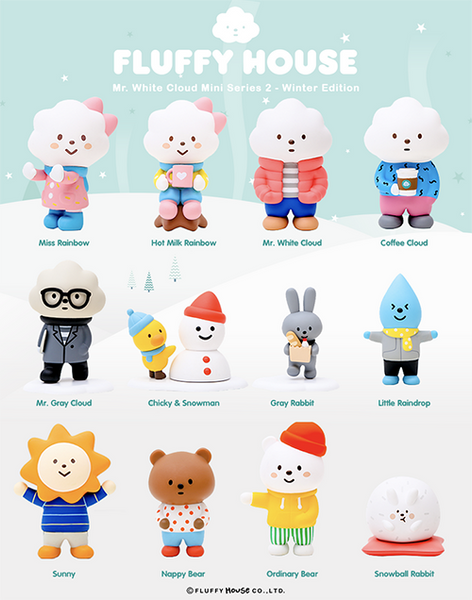 Mr. White Cloud Mini Series 2 - Winter Edition  (12 units)