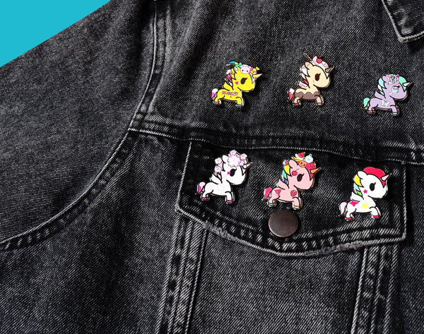 Tokidoki Unicorno Collectible Enamel Pin Blind Box (16 units)