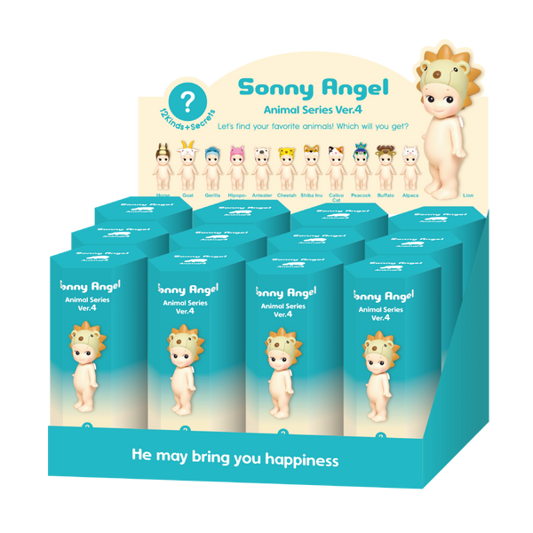 Sonny Animal Series 4 (12 units) NEW LOOK!