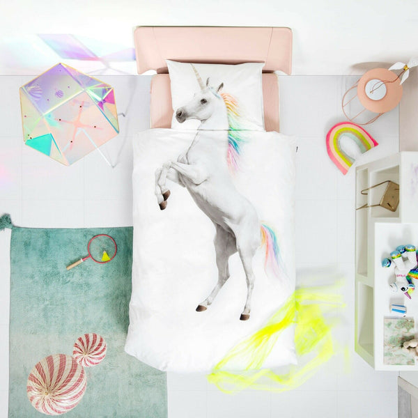 Unicorn Duvet cover 135 x 200 cm (3 units)