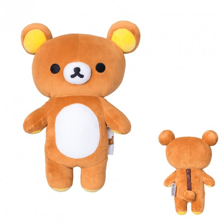 Rilakkuma with real zipper (4 units)