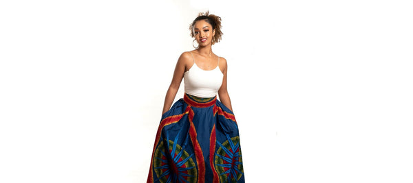7 Unique Ways To Wear Your African Print Skirt
