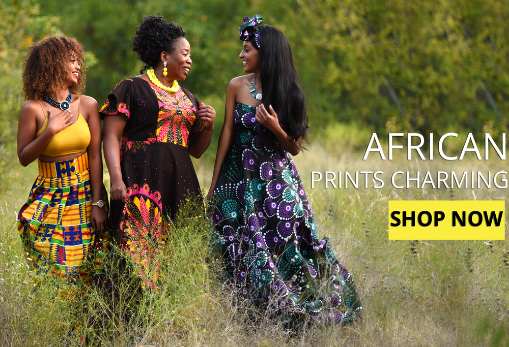 African Prints Charming By Oludan