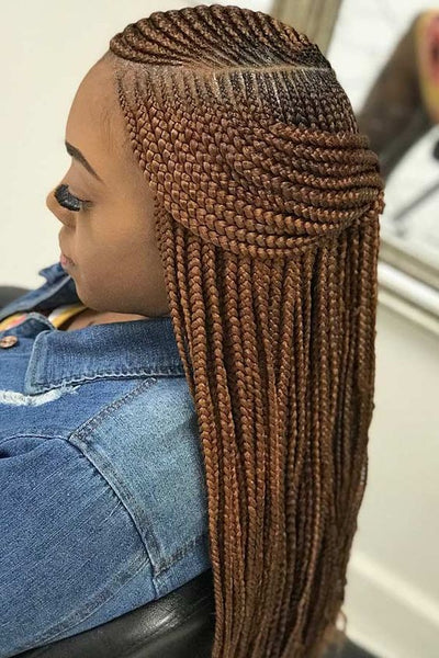 Two Layers Braids