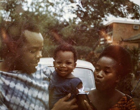 May Olusola and parents