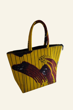 African Print Yeside Tote