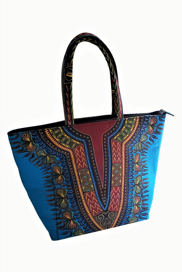 African Alade Tote Bag