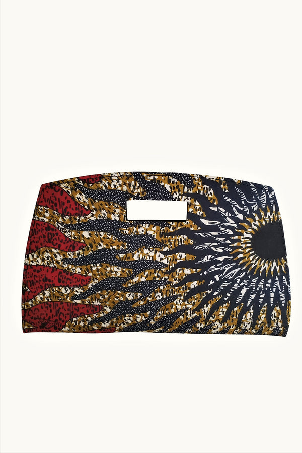 African Minerva Clutch Bag