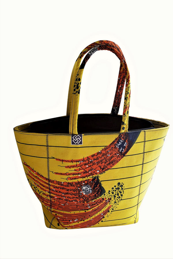 African Sumbo Tote Bag
