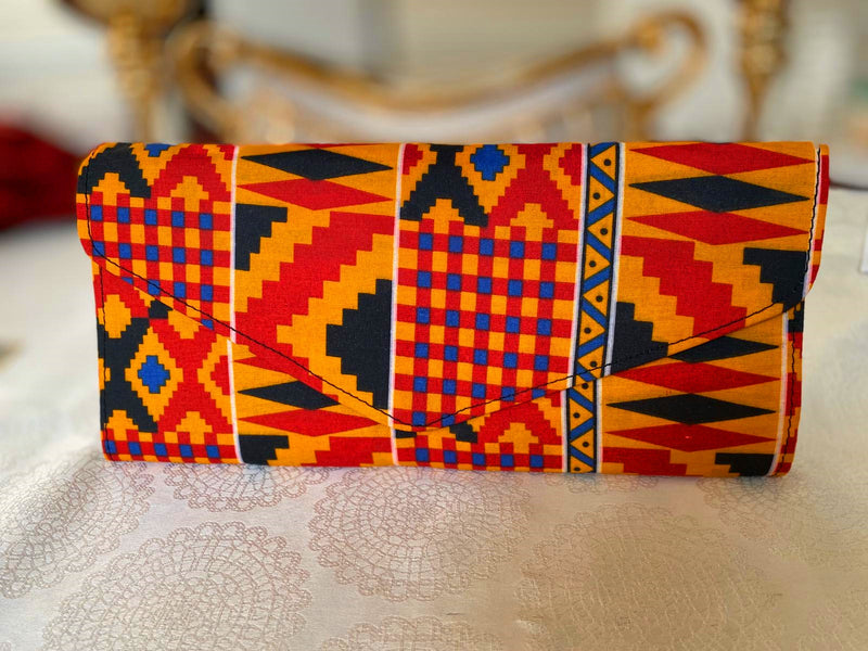African Tina Clutch Bag
