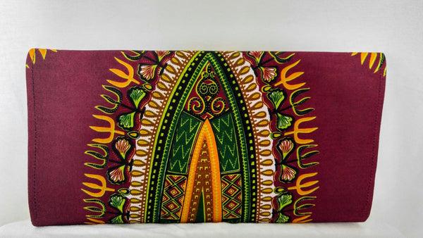 African Print Itohan Clutch - Oludan