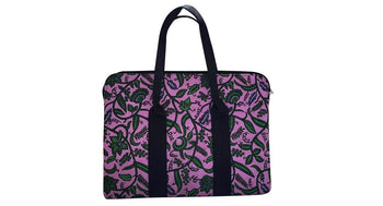 Pinkiegreen 15 inch Ankara Laptop Bag - Oludan