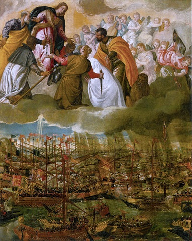 Battle of Lepanto Our Lady of the Rosary Blog by Ghirelli Rosaries