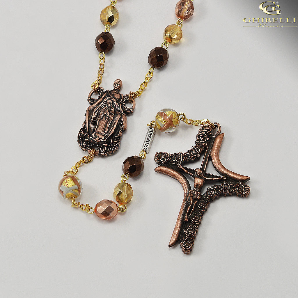 Our Lady of Guadalupe Rosary by Ghirelli