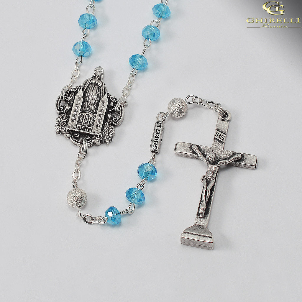 Medjugorje Queen of Peace Rosary by Ghirelli