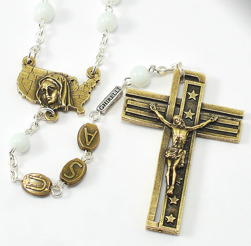 USA Rosary for the National Rosary Rally Coast To Coast - Bronze