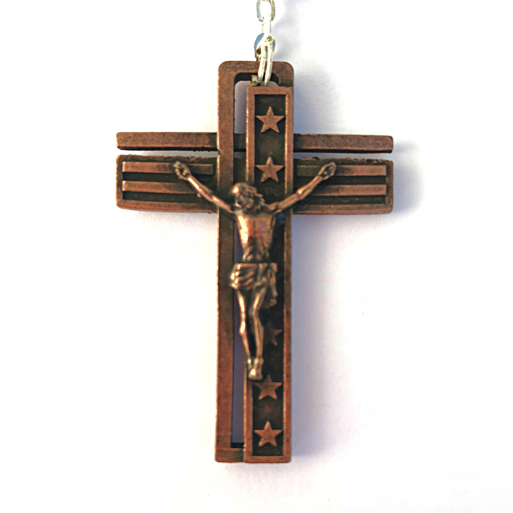 USA Rosary for the National Rosary Rally Coast To Coast - Copper