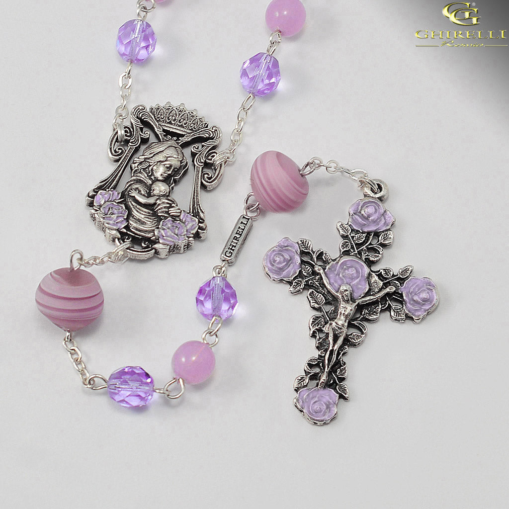 Rosaries for Women with Genuine Murano by Ghirelli
