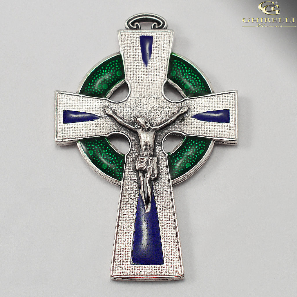 Our Lady of Knock Queen of Ireland with Bohemian Glass Beads by Ghirelli