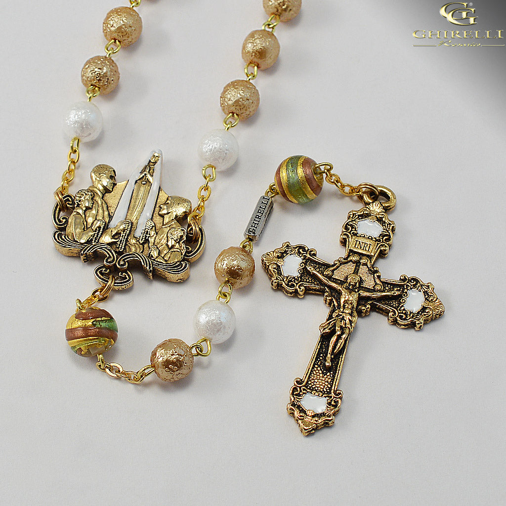 Rosaries for the Family with Bohemian Glass Beads by Ghirelli
