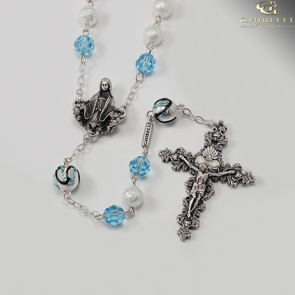 Rosaries for Women with Genuine Swarovski by Ghirelli