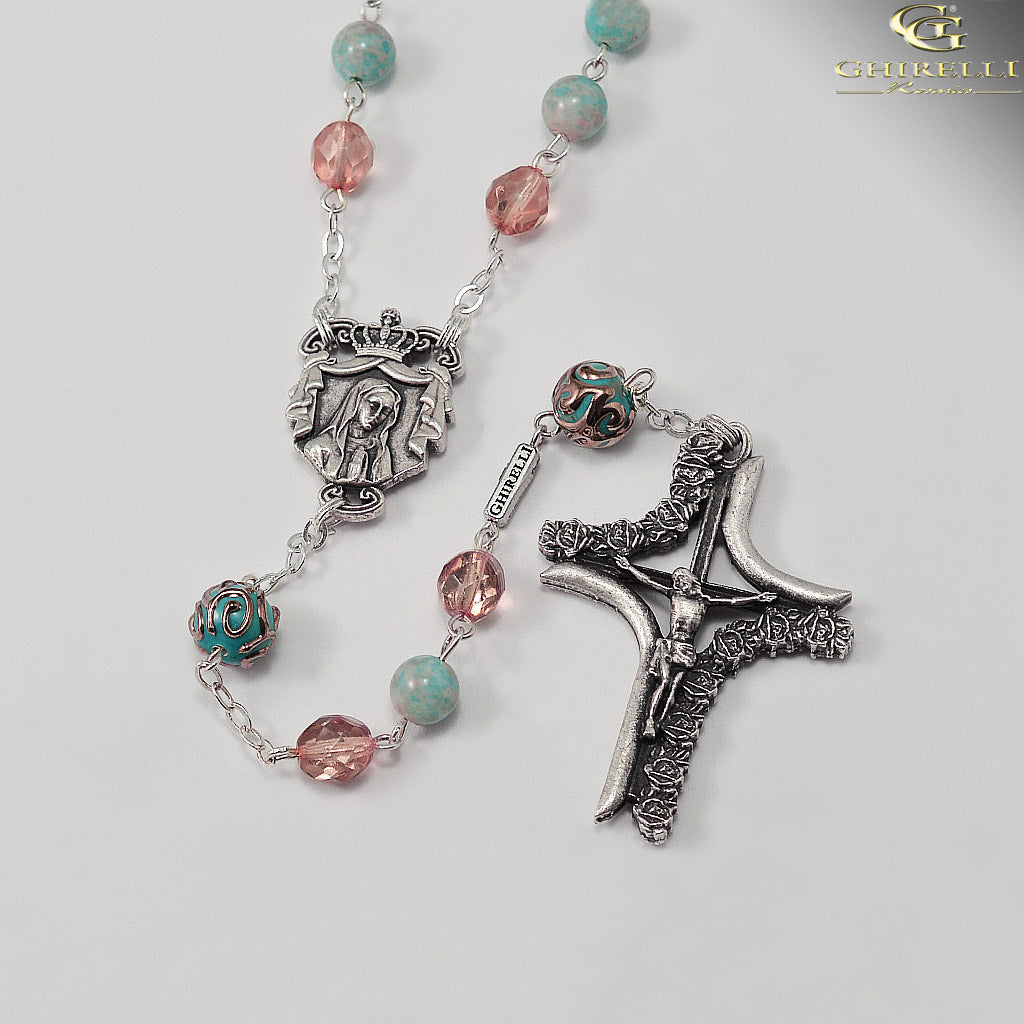 Rosaries for Women with Lumen Beads by Ghirelli