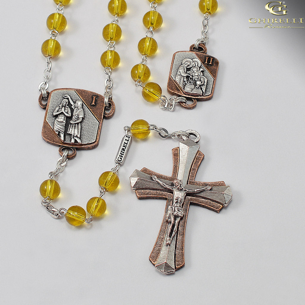 6a0b4b62e Mysteries Of The Rosary Collection - Light Mysteries – Ghirelli Rosaries