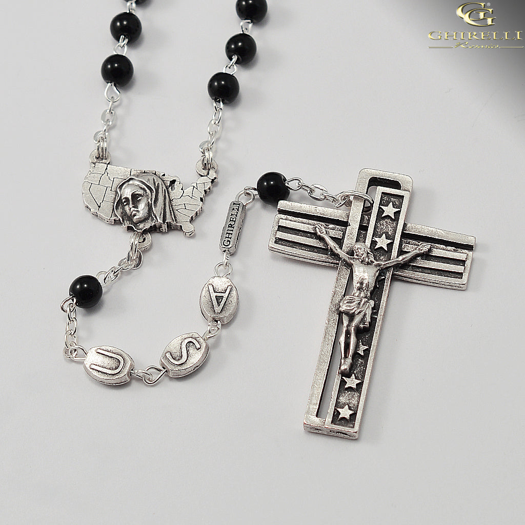 USA Rosary for the National Rosary Rally Coast To Coast - Silver
