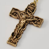 Annunciation gold plated Rosary - Ghirelli Rosaries - Rosary Beads For Sale