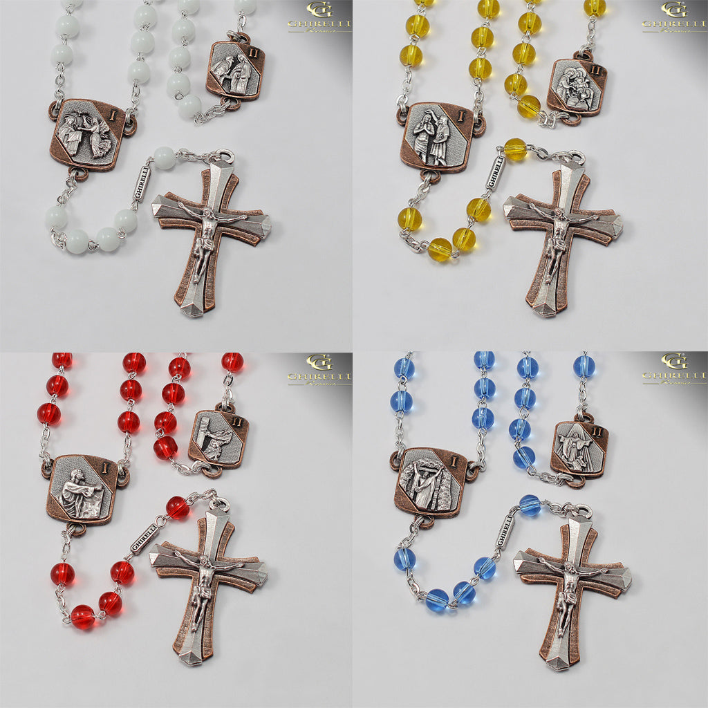 6d5f13a31 Mysteries Of The Rosary Collection - Full Mysteries Set – Ghirelli ...
