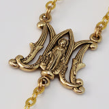 ROSARIES - Annunciation Gold Plated Rosary
