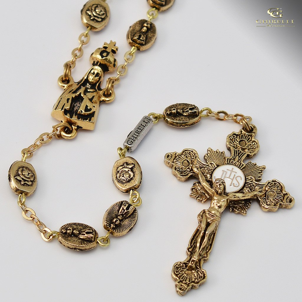 Fatima gold plated Rosary