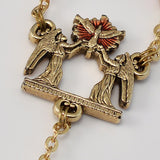 ROSARIES - Holy Confirmation Gold Plated Rosary