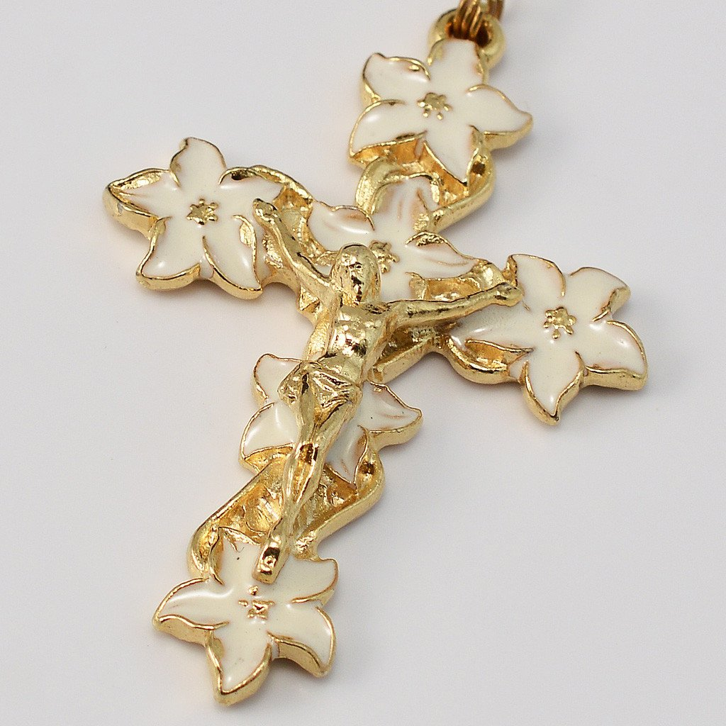 Holy Easter gold plated Rosary