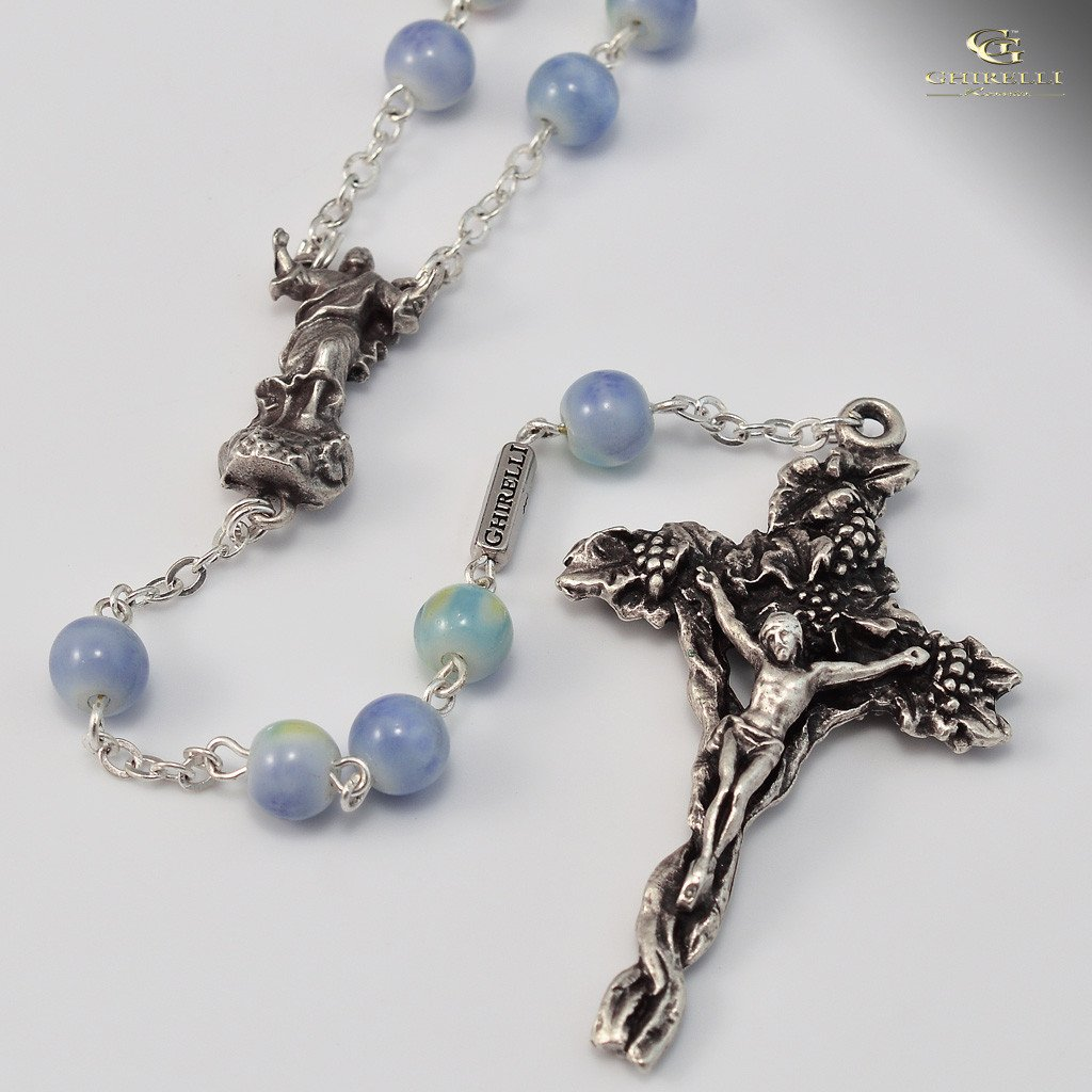 Holy Easter silver plated Rosary